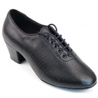 "Style SDS Tabit Black Leather 1.7"" Practice Shoe"