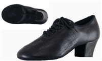 Style SDS Viktoria Black Leather Split Sole Practice Shoe | Blue Moon Ballroom Dance Supply