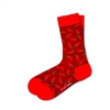 Style Red Hot Chili Peppers Socks Burgandy Unisex