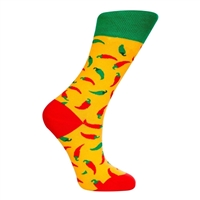 Style Red Hot Chili Peppers Socks Yellow Unisex