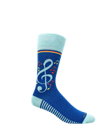 Style Musical Note Socks - Mens