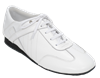Style Ultimate Hybrid Dance Practice Sneaker in White | Blue Moon Ballroom Dance Supply