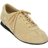 Extra-Depth Padded Insole Unisex Ultimate Hybrid Taupe Suede Dance Sneaker | Blue Moon Ballroom Dance Supply