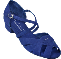 Ultimate Wrapstar Blue Suede - Unisex Dance Shoes | Blue Moon Ballroom Dance Supply