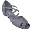 Ultimate Wrapstar Grey Suede - Unisex Dance Shoes | Blue Moon Ballroom Dance Supply