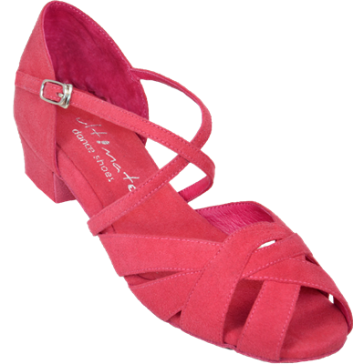 Ultimate Wrapstar Pink Suede - Unisex Dance Shoes | Blue Moon Ballroom Dance Supply