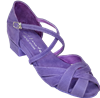 Ultimate Wrapstar Purple Suede - Unisex Dance Shoes | Blue Moon Ballroom Dance Supply