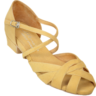Ultimate Wrapstar Tan Suede - Unisex Dance Shoes | Blue Moon Ballroom Dance Supply