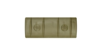Ergo Full-Medium Rail Cover (10 slot)- Olive Drab Green ERGO4361-OD-3PK