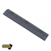 Ergo Full-Long Rail Cover (15 Slot)- Black ERGO4362-BK-3PK