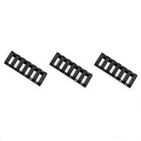 Ergo 7 Slot Ladder Lowpro Rail Cover - Black ERGO4378-BK-3PK