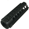 AR15 7 inch CARBINE Length Free Float Rail System, Round Port -HG-M1031-SR