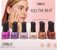 Orly Feel The Beat Spring 2020 Collection with Display Stand