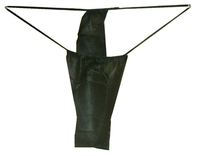 Disposable Thong (Black)