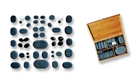 Basalt Massage Stones - 36pcs