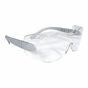 Sheath Clear Plastic Protective Eyewear Glasses