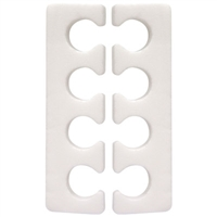 White Toe Separators (25 Pack)