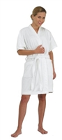 Canyon Rose ~ Plush Microfiber Women's Short Spa Robe