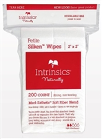 "Intrinsics ~ Petite Silken Wipes"" 2x2  Aesthetic Wipes"