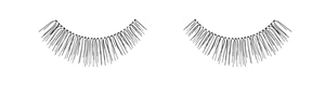 Ardell InvisiBand Natural Lash Stips (Beauties Black)