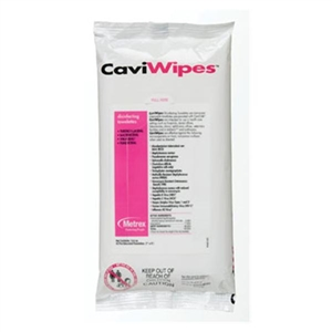 CaviWipes Disinfecting Towelettes  Flat Pack of 45 Pieces