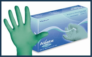 Alasta with Aloe Nitrile Exam Gloves