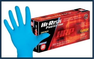 Hi-Risk Nitrile Exam Gloves