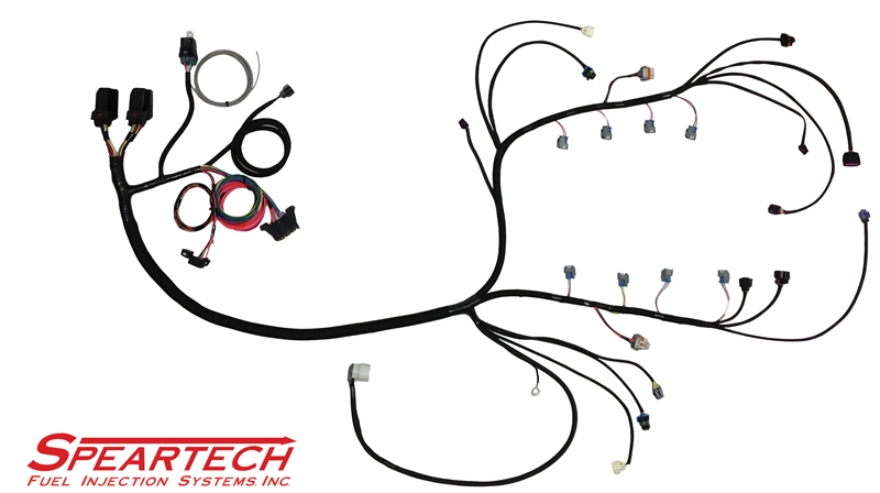ford transmission wiring harness ls 58x standalone harness (6l80/6l90) #8