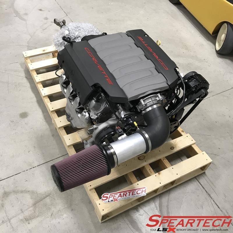 Corvette Lt1 Swap: C7 LT1/6L80 Powertrain Package