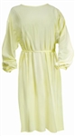 protective procedure isolation gown yellow