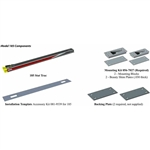 "StatTrac Cot Fastening System with Mounting Blocks (Long Trac 103"" Length) Kit"