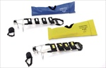 Fernotrac Adult and Pediatric Splints, with Yellow Carry Case