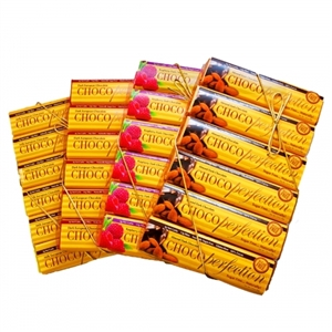 Four 12-Bar Boxes of ChocoPerfection Bars, Assorted Flavors
