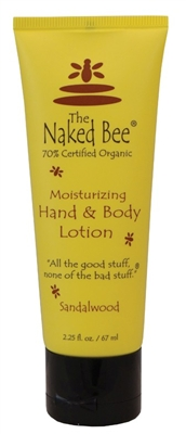 The Naked Bee Sandalwood Body Lotion