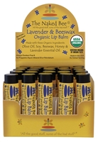 The Naked Bee Lip Balm Lavender & Beeswax