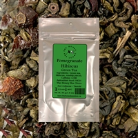 Pomegranate Hibiscus Green Tea - The Honey Bee Store, Niagara, Canada