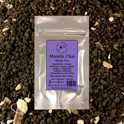 Masala Chai Tea - shop for loose leaf tea online at The Honey Bee Store