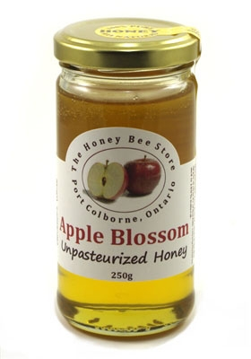Apple blossom honey 250 g The Honey Bee Store