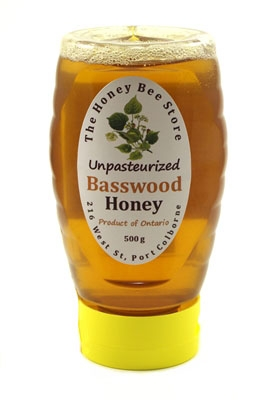 Basswood Honey, squeezed bottle 500 g