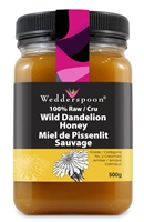 Raw Dandelion Honey, 500g