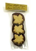 MAPLE SUGAR LEAVES, Large, 3 pack