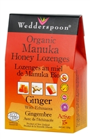 Organic Manuka Lozenges with Ginger & Echinacea