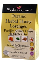 Honey Lozenges with Fennel & Cinnamon