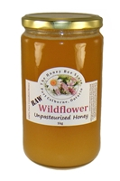 Raw Wildflower Honey from Niagara, 1000g
