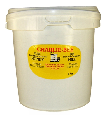 Pure Canadian unpasteurized honey from Ontario, 3kg