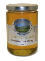 Okanagan Gold Raw Honey, 500g