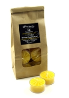 Beeswax Tealights, 10 Pack