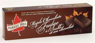 Maple Chocolate Fudge Gift Box, Turkey Hill