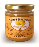 Creamed honey mixed with natural lemons.