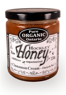 Ontario's Organic Cinnamon Honey Creamed